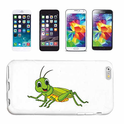 Bandenmarkt telefoonhoes compatibel met Samsung Galaxy S5 Mini klein vrolijke grille grasmaaier grille insect veldhechtafschrikking olieverschrikken grasbeker