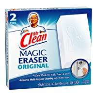 Mr Clean Erase and Renew Magic Eraser, Original, 2 Count (Pack of 3) by Mr. Clean