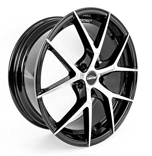 SEITRONIC® RP5 Alufelge Machined Face Glossy Black 8J 5x112-ET45-57,1 (19 Zoll)