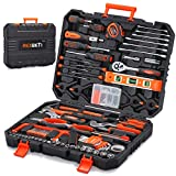REXBETI 217-Piece Tool Kit, General Household Hand Tool Set with...