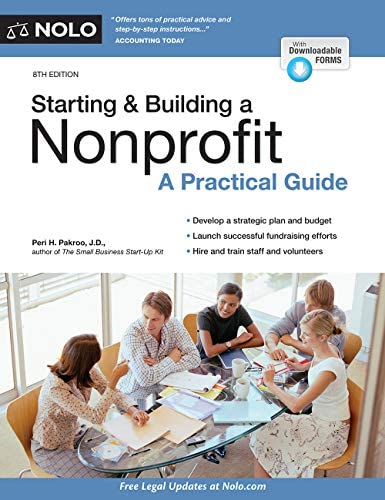 Starting Building a Nonprofit A Practical Guide product image
