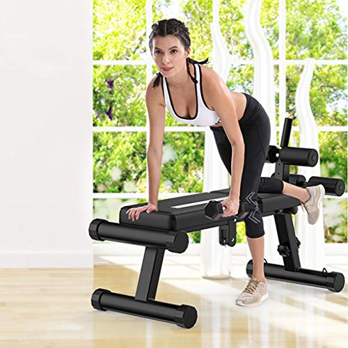Hstore Sit-ups Board Dumbbell Bench,Multi-Purpose Adjustable Workout Utility Weight Bench for Full Body Upright, Incline, Decline, and Flat Exercise