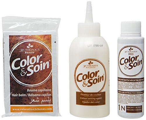 Les 3 Chênes - Color & Soin - Coloration 1N Noir Ebene
