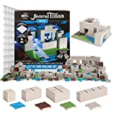 Monster Adventure Terrain - 127pc Core Building Set - Fully Modular and Stackable 3-D Tabletop World Builder Compatible with DND Dungeons Dragons, Pathfinder, and All RPG Games