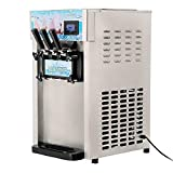 INTBUYING Commercial Soft Serve Ice Cream Machine 8L/H(4.75...