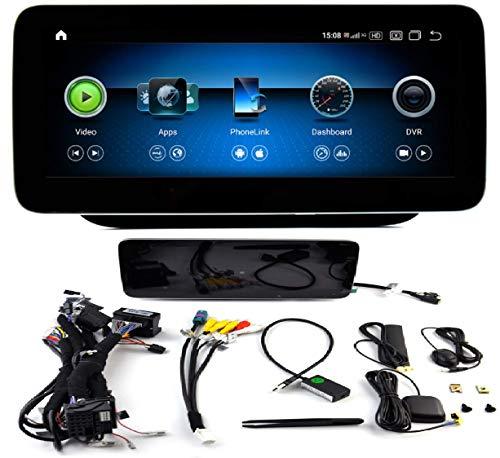 KasAndroid AUTORADIO Android 10.0 valido Mercedes-Benz B Class W246 B180 B200 B220 B250 B260 2015-2019 (NTG5.0) OCTA CORE, 4GB + 64GB Carplay/Android Auto GPS WiFi 4G navi navegador Pantalla 10.25' HD
