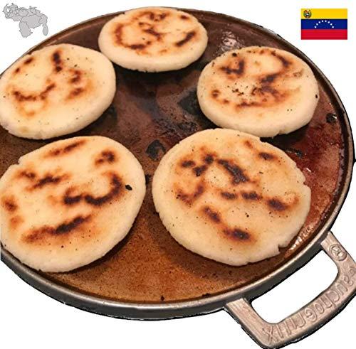 GauchogrillX® Budare Curado 25cm Griddle doorgewinterde comal Tawa Tava Hecho en Venezuela