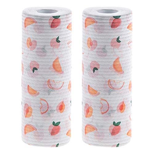 SODIAL 2 Piezas de Toallitas Perezosas Reutilizables Toallas de Limpieza para Lavar Platos y Lavavajillas Que Absorben Aceite
