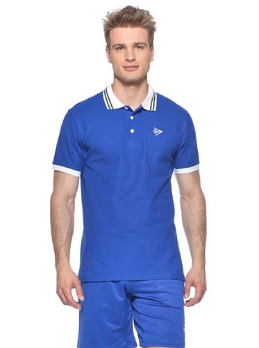 Dunlop Torso-Ropa Casual de Lujo Polo para Hombre Azul Azul...