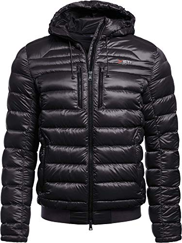 YETI Jay M's Down Jacket Herren Daunenjacke Jacke, Black, Größe XL