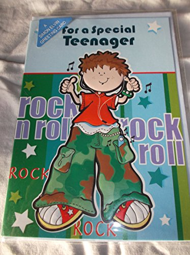 Für einen besonderen Teenager Geburtstag Karte–Rock n Roll