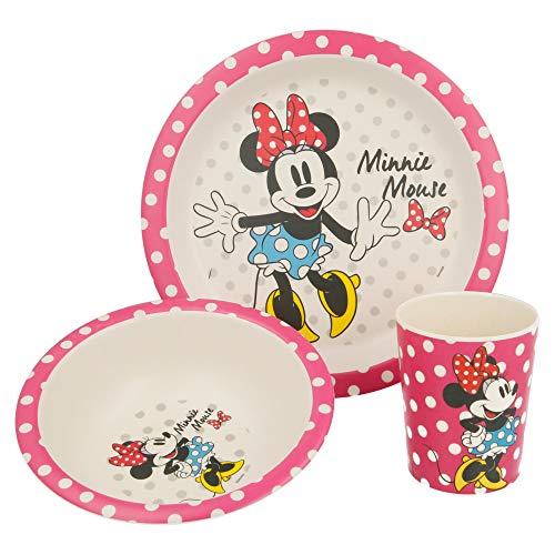 SET BAMBU 3 PCS. MINNIE MOUSE - DISNEY - GLAM DOTS