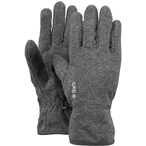 Barts Unisex Fleece Handschuhe, Grau, One size (Herstellergröße: 53)