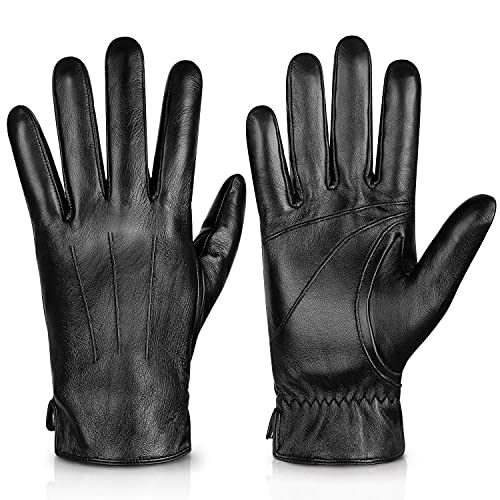 Alepo Luxury Leather Gloves, High End Italian Material
