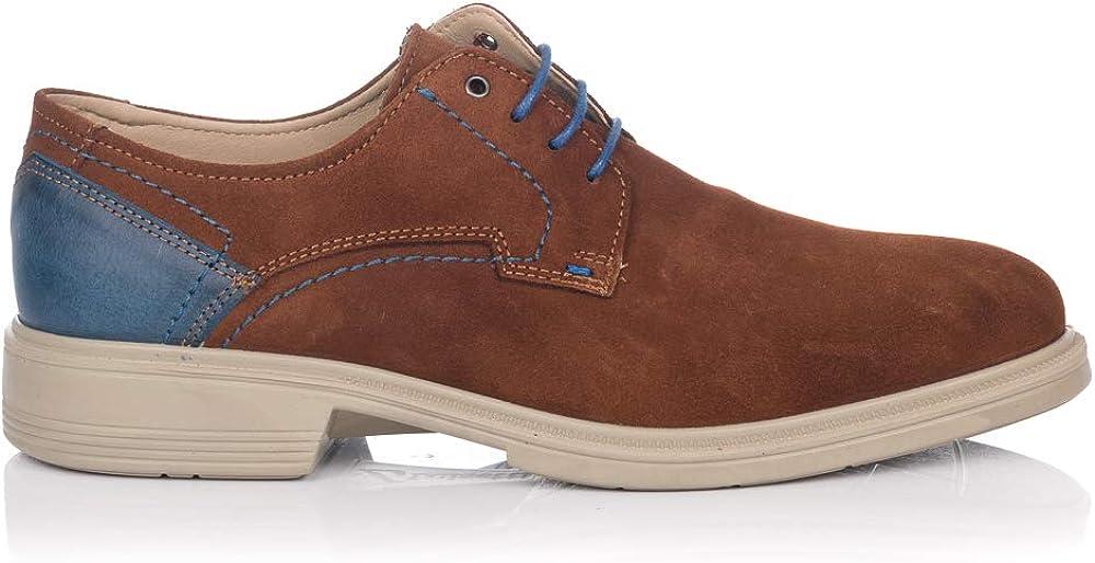 LUISETTI 28708 Zapato Cordones Ante Hombre