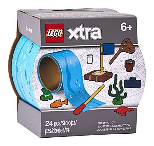 LEGO Xtra 854065 - Cinta adhesiva de agua (incluye 10 accesorios)
