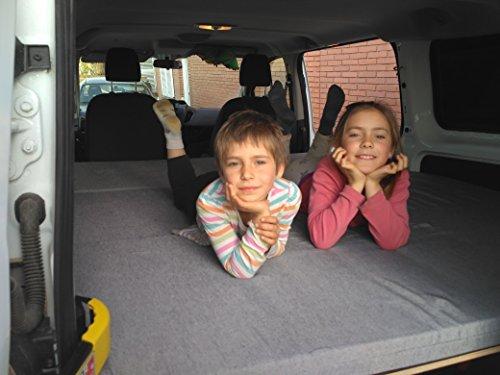 Cama furgoneta Transit Custom, ligera y desmontable