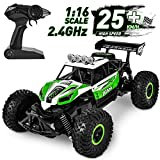 Flyglobal Fast Remote Control Car, 1:16 High Speed RC Cars for Boys Powerful Car Remote Control with...