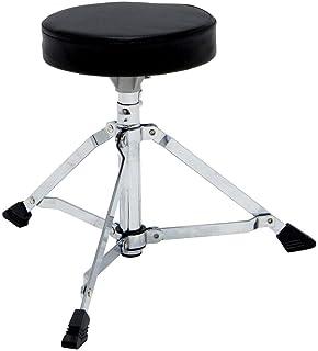 Sillines para batería Junior Asiento Redondo, Altura Regulable, Patas Perfil Simple