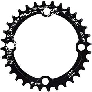 lzndeal 6pcs Bike Chainring Crankset Bolts Screws for MTB Road Bike