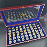 LHANZ Superbowl Champions Ring,54pcs Football...