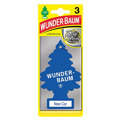 Preisvergleich Produktbild Wunder-Baum 178214 Wunderbaum New-Car 3er Karte