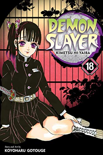 """Composition Notebook: Demon Slayer-Kimetsu no Yaiba Vol.18 Anime Journal/Notebook, College Ruled 6"""" x 9"""" inches, 120 Pages"""