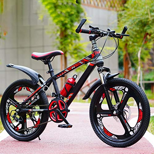 HHGO Bicicleta para Niños Edades 8-12 Bicicletas De Montaña Suspensión Completa 20 22 24 Pulgadas Bicicletas para Niños 21 Sistema De Velocidad Variable Bicicletas, De Niños Ciclismo