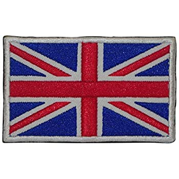 Cobra Tactical Solutions Bandera English Flag UK Flag England Parche Bordado Táctico Militar con Cinta de Gancho y Lazo de Airsoft Paintball para Ropa de Mochila Táctica: Amazon.es: Hogar