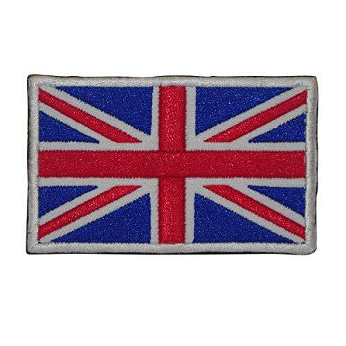 Cobra Tactical Solutions Militaire Grote Britse Unie Jack Vlag Geborduurd UK Engeland Vlag voor Airsoft/Paintball met haak & lus