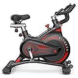 LILI Bicicleta Giratoria para El Hogar Bicicleta De Ejercicio con Magnetrón Mudo para Interiores Equipo para Ejercicios De Entrenamiento para Pérdida De Peso