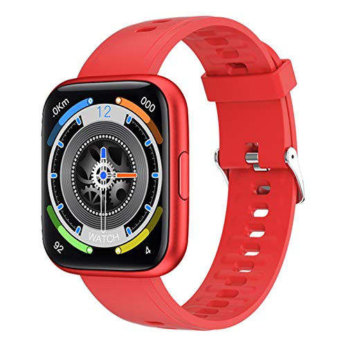 ZYDZ P8Plus Smart Watch para Hombres y Mujeres, Touch Full Touch IP68 Impermeable Sports Tracker Sensor Sensor Sensor Pedómetro para Android iOS,D
