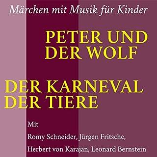 Peter und der Wolf. Der Karneval der Tiere Titelbild