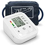 XXGJK Tensiómetro de Brazo Digital Monitor de Presión Arterial Automatico con Gran Pantalla LCD Deteccion de Irregular Arritmia para Padres Abuelos