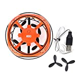 Jingyi Jouet de Drone, Drone Infrared Sensing Control RC Quadcopter Induction Altitude Hold Mini Drone Toy(Orange)