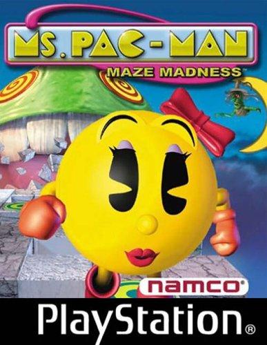 Playstation 1 - Ms. Pac-Man - Maze Madness