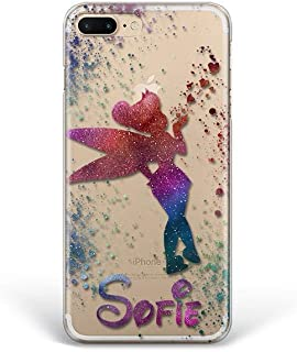 Kaidan Tinker Bell iPhone 6 6s X XR XS Max Custom Name 5s SE Case 8 7 Plus Fairy Samsung Galaxy S8 S9 S10 Plus Magic Note 10 Plus A70 A60 Note 9 8 Google Pixel 3A 3 XL Cartoon LG G8 Thinq G7 Fit fdp4