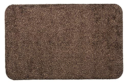 Andiamo 700610 Schmutzfangmatte Samson (Baumwolle, Waschbar bei 30 Grad celsius) 60 x 100 cm, braun