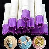 DGJEL 10 stück Pinzette Kuchen Dekoration Kit Set Blumenspitze Clip Werkzeug Gravur Kuchen Cookies Gebäck Keks Cutter Werkzeug Backen Zubehör