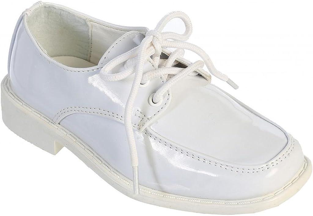 iGirldress Dapper Patent Leather Oxford Boys Dress Shoes