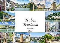 Traben Trarbach Impressionen (Wandkalender 2022 DIN A3 quer): Traumhafte Bilder der romantischen Stadt Traben Trarbach (Monatskalender, 14 Seiten )