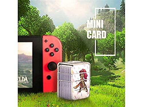 CXCF 24 PCS NFC Tag Tarjetas para LA Leyenda DE Zelda Aliento de la Naturaleza, BOTW para el Despertar del Enlace para el Interruptor/Interruptor Lite/Wii u [Mini tamaño] -66652