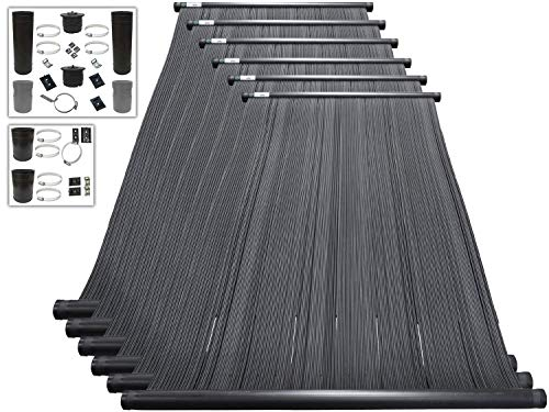 Fantastic Prices! SOLARPOOLSUPPLY Highest Performing Design - DIY Solar Pool Heater System Kit - 15-...