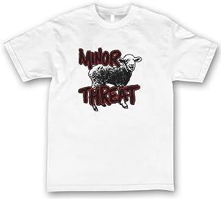 Minor Threat ヒップホップ ロック 流行 欧米風 音楽 メンズ/レディース Tシャツ 夏服 半袖 シャツ