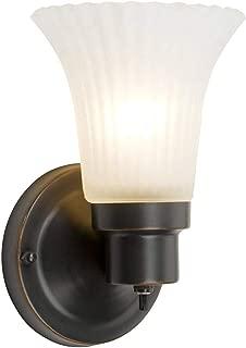 Design House 505115 1 Light Wall Light, Oil Rubbed Bronze