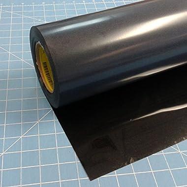 Siser Easyweed Iron on Heat Transfer Vinyl Roll HTV - Black - 15 x5'