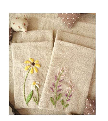 Sweet Home - tessuto da tappezzeria in iuta, 150 cm di larghezza, 55% lino, 45% cotone, per fai da te e cucito, al metro