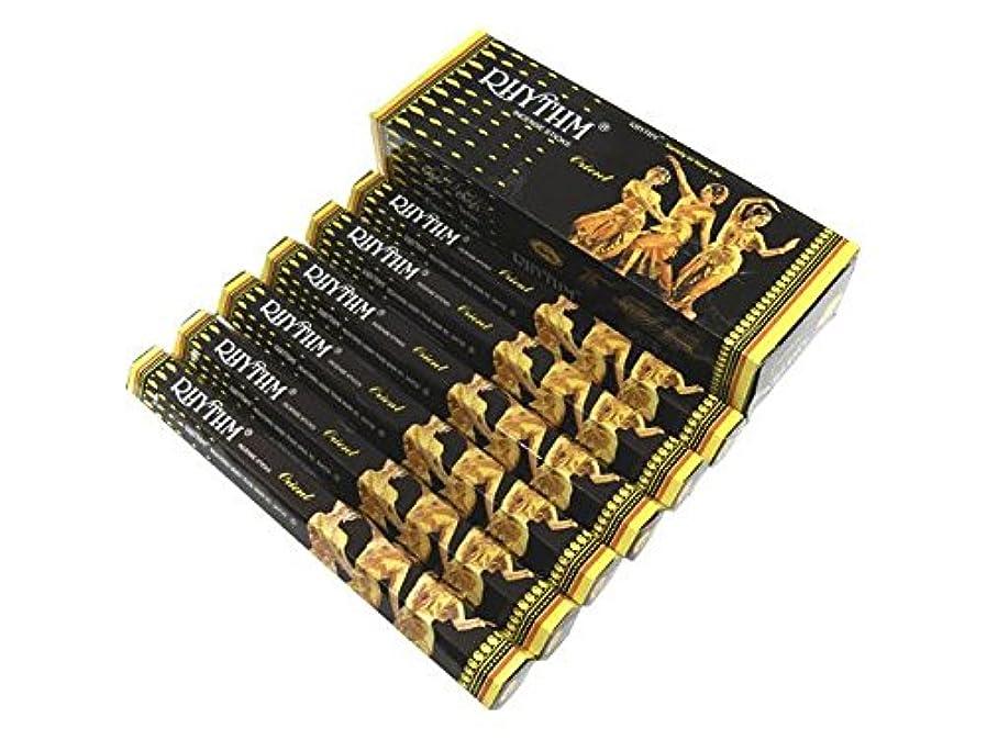 種類論争の的メッシュCYCLE(サイクル) リズム香オリエント スティック RHYTHM ORIENT 6箱セット