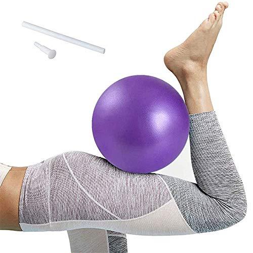 Softball, Mini Pelota de Ejercicio de 25cm, Pelota Pilates Antideslizante Ultraligera Anti Explosión, Pilates Pelota Equilibrio para Gimnasio, Yoga, Masaje