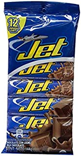 JET Milk Chocolate 12 Units. 144 grs. / 4.2 oz.